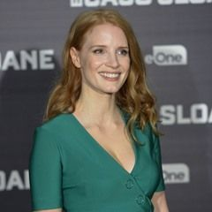 US Actress Jessica Chastain attends the 'Miss Sloane' Photocall in Madrid