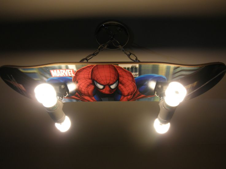 Marvel Spidey Spider-Man Shade Light Easy Fit Ceiling Lampshade Kids Lighting UK