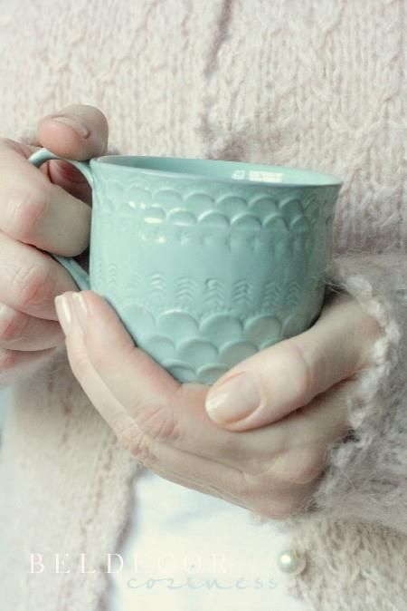 Cozy Tea- what a delightful mug!!!!!!