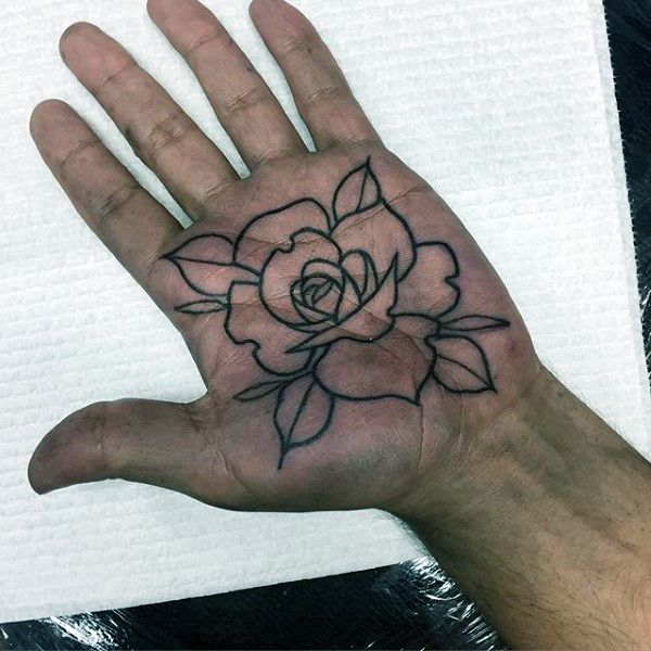 100 Palm Tattoo Designs For Men Inner Hand Ink Ideas Body Mod