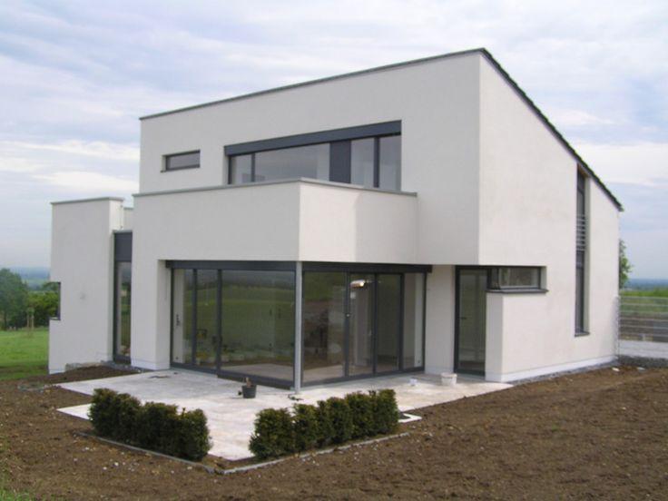 19 besten architektur dach bilder auf pinterest dachs for Einfamilienhaus modern flachdach