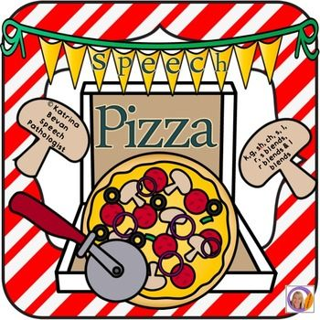 $ Articulation Game for speech and language therapy: Speech Pizza