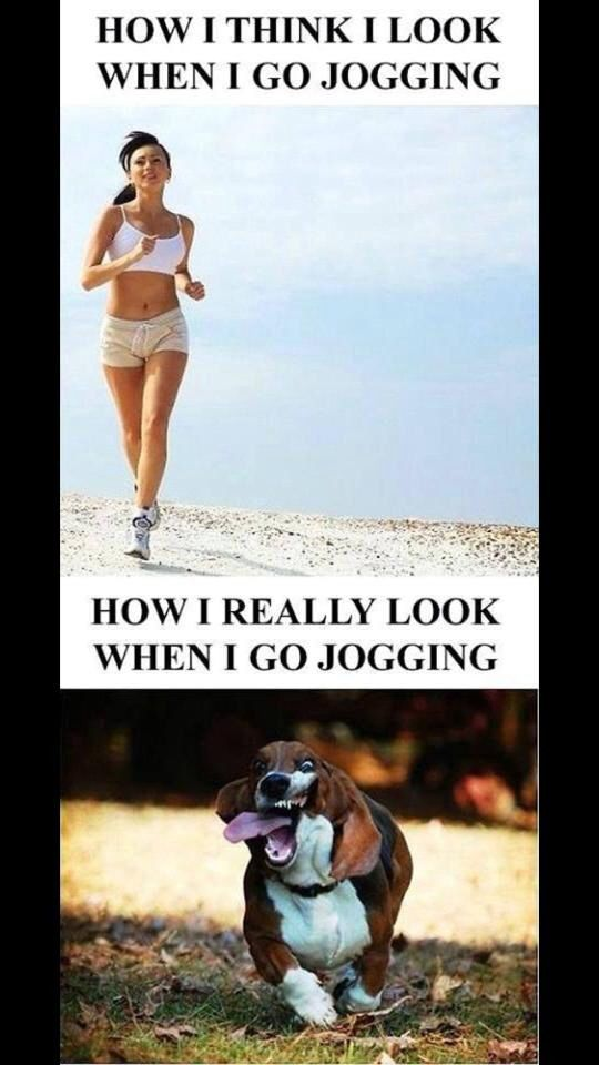 I'm a sprinter so jogging is not one of my strong suits