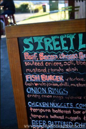 Street Food Menu at Eat Street Cafe, Gosford, NSW