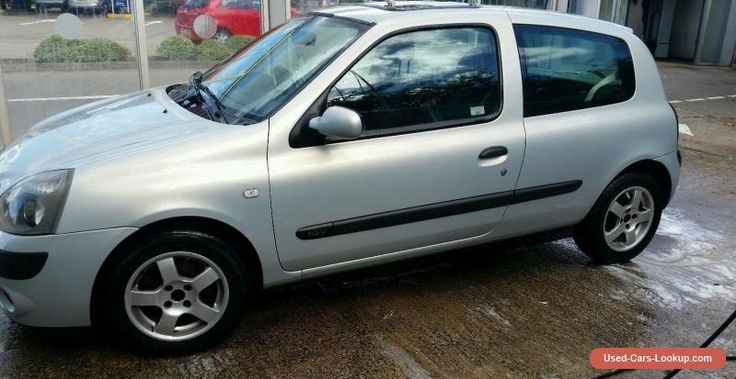 Renault Clio 1.2 54 Plate With MOT Petrol Alloys #renault #clio #forsale #unitedkingdom