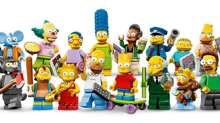 Ay-Carumba! The Simpsons Lego mini figures are here!