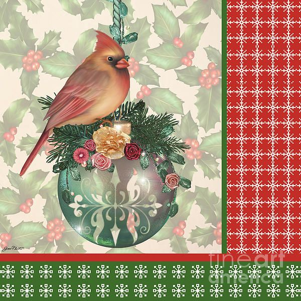 I uploaded new artwork to plout-gallery.artistwebsites.com! - 'Holly And Berries-a' - http://plout-gallery.artistwebsites.com/featured/holly-and-berries-a-jean-plout.html