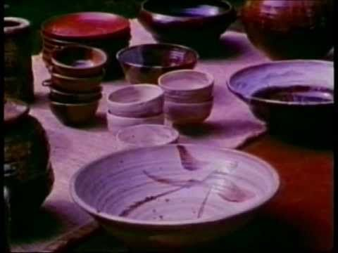 Potters of the USA Part Two - Featuring Warren Mackenzie and Toshiko Takaezu etc. (video of a young Warren Mackenzie)
