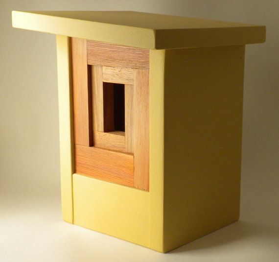 craftsman bird house . the camera shutter . twig and timber