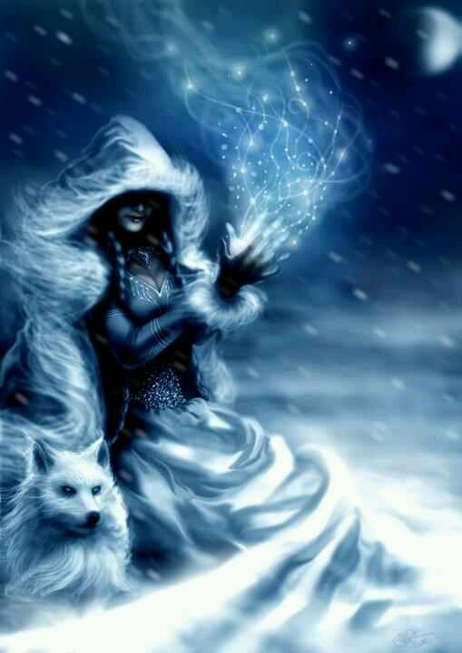 Winter Enchantress Natania Ora   A Dream in 2019   Fantasy ...