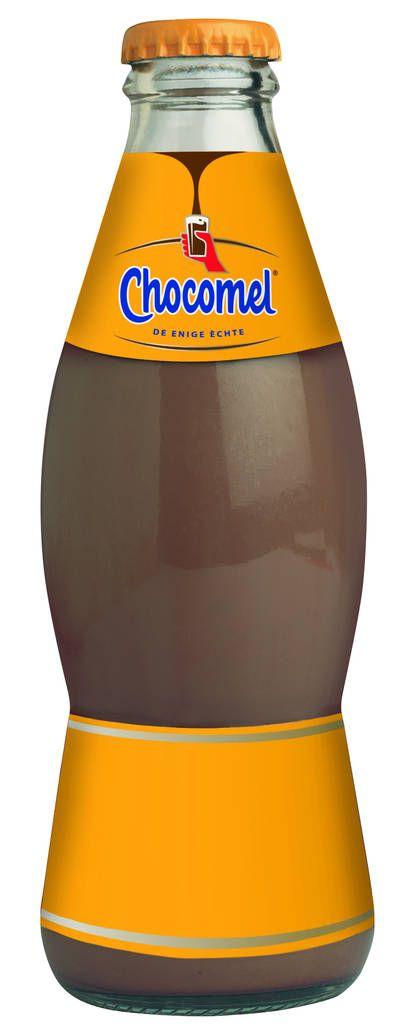 Chocomel vol fles glas 20cl