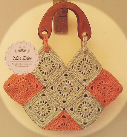 Bag - Crochet #handmade (Available)