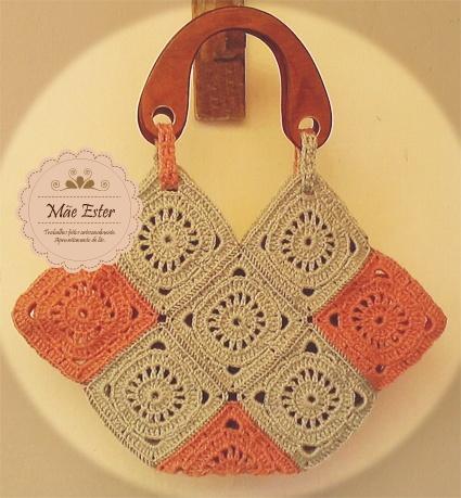 Bag - Crochet #handmade (Available)
