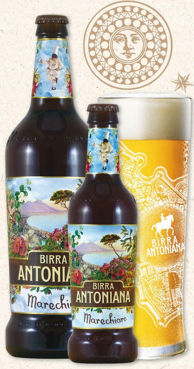 Birra Antoniana Marechiaro, Lager 5,2% ABV (Birrificio Antoniano, Italia) [marzo 2017]