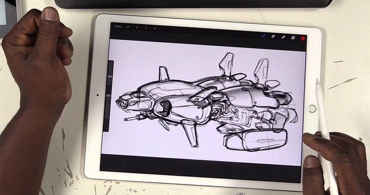 Drawing Tablets Head-to-Head: iPad Pro/Pencil vs. Surface Pro vs. Wacom Cintiq Companion By Amid Amidi