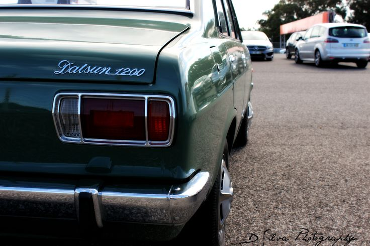 Datsun 1200 Autódromo do Estoril #car #1200 #sunny #datsun #classic