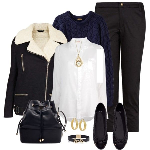 """""""Smart Navy Pants Outfit"""" by mozeemo on Polyvore"""