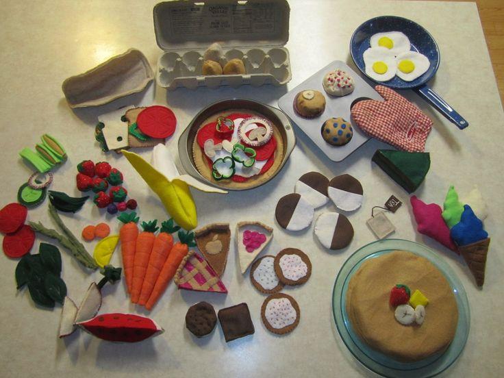 DIY Felt Food Toys