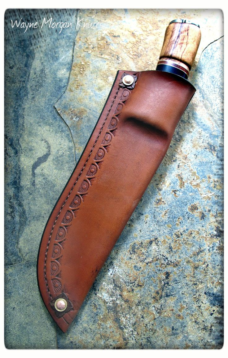 aldo shoes making leather knife sheaths