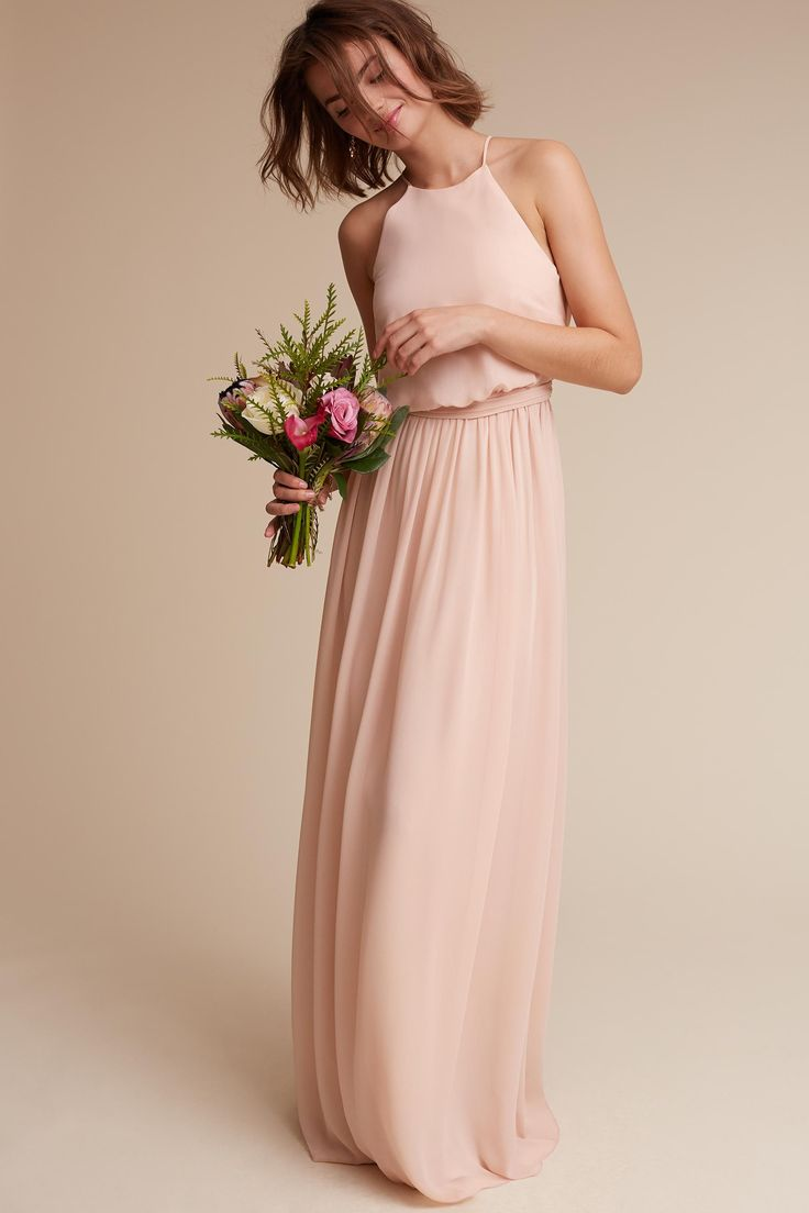 Best 25 blush bridesmaid dresses ideas on pinterest blush alana dress from bhldn bridesmaids dress pale pink shades ombrellifo Images