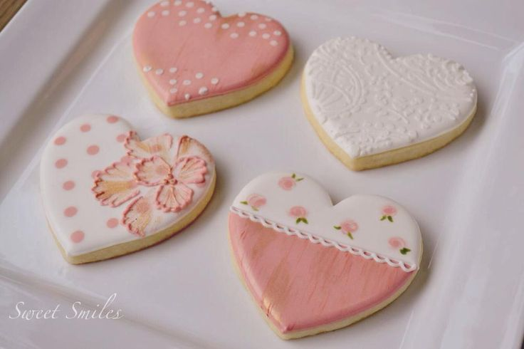 Shabby Chic Hearts | Cookie Connection