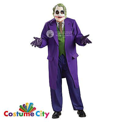 #Adult men's #batman heath ledger dark #knight deluxe joker fancy dress costume,  View more on the LINK: http://www.zeppy.io/product/gb/2/271643286307/