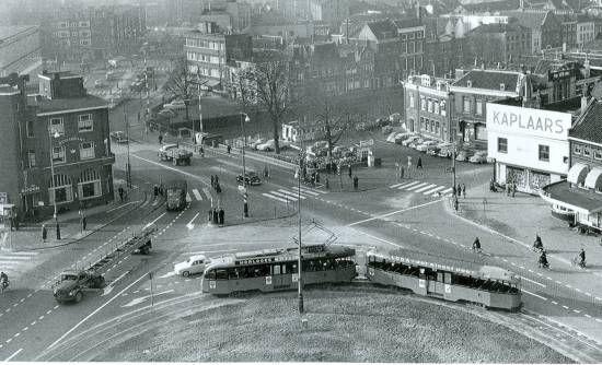 Schiedam. Koemarkt 1960
