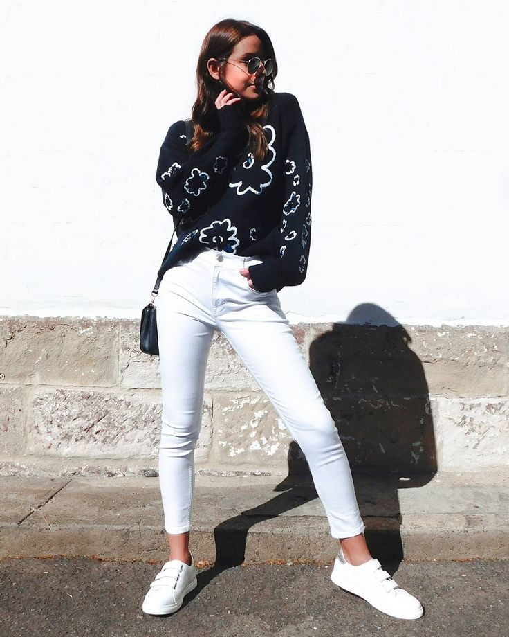 Lighten up your winter look with fresh white jeans. #myFC #FrenchConnectionAU #instagram
