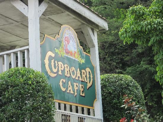 Best Place to Eat- The Cupboard Cafe, Dillard GA