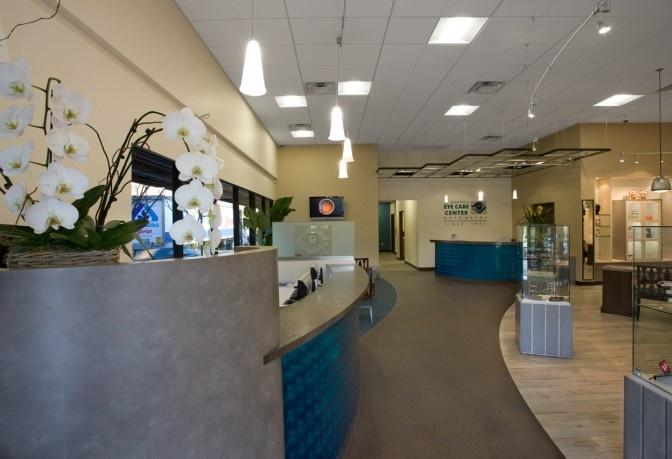 Scheffel Eye Care Center | Optical Office Design | Barbara Wright Design