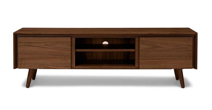 Seno Walnut Media Unit - Storage - Article | Modern, Mid-Century and Scandinavian Furniture