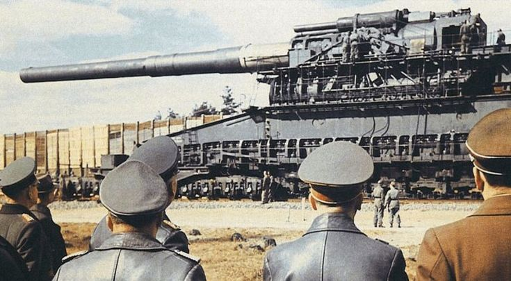 Watch the 'Schwerer Gustav' in action – the largest caliber artillery weapon ever used in combat