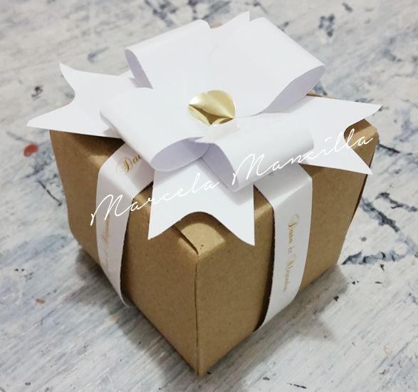 Cajas para Bodas personalizadas en Colombia por Marcela Mancilla.