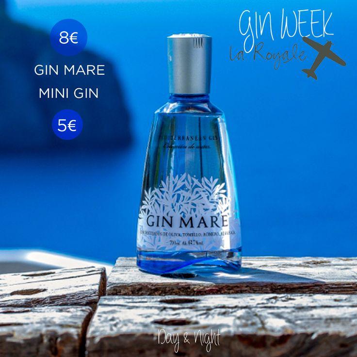 """Esta semana en La Royale celebramos la """"Gin Week"""" de la mano de Gin Mare. Una semana en la que podrás disfrutar de nuestros Gin Tonics Premium de Gin Mare a 8€ y mini Gin Tonics a 5€.  #LaRoyale #PacoPérez #Barcelona #GinWeek #GinTonic"""