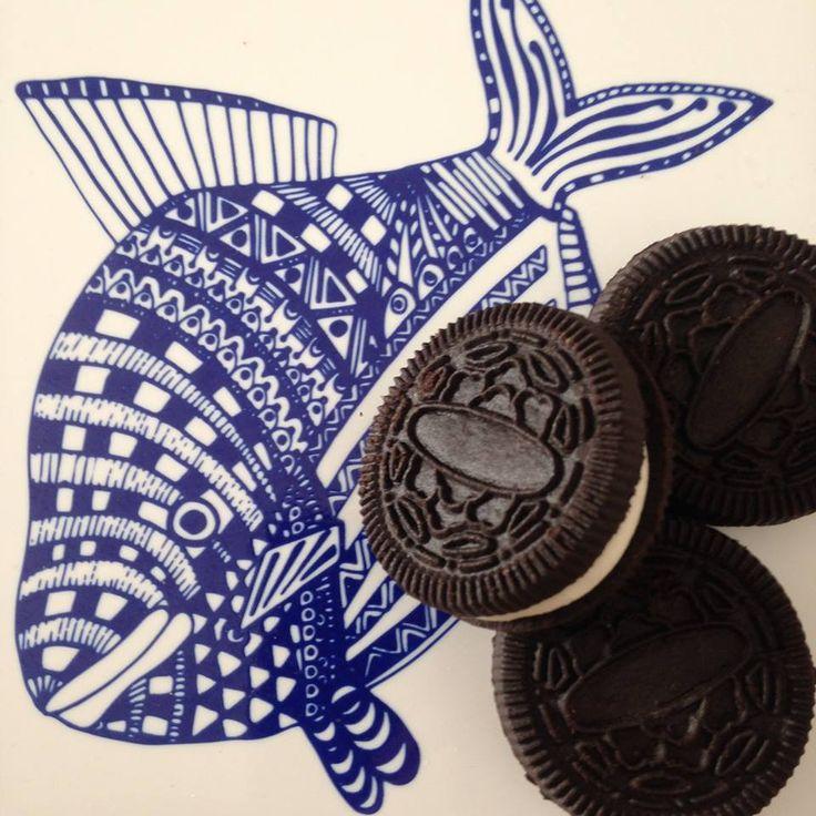 Oslaďte si tropický den sušenkami s vanilkovým krémem!