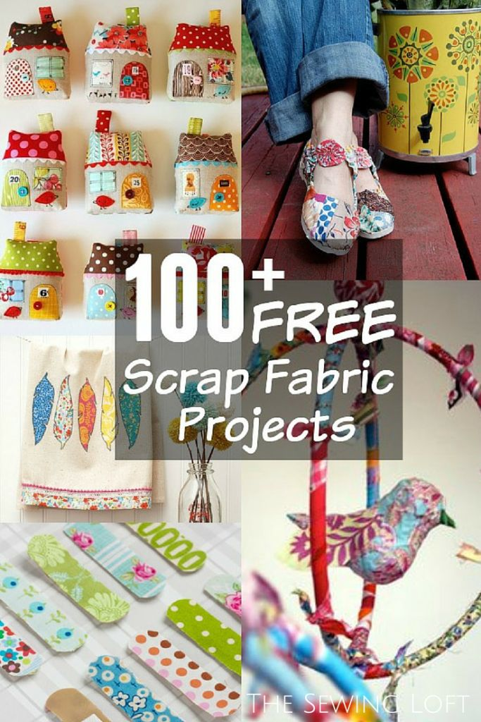 100+ Scrap Fabric Projects Rounded Up in one place. The Sewing Loft