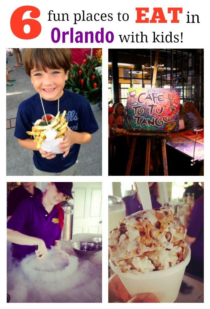 Six Fun Places To Eat In Orlando With Kids Savvy Sassy Moms Orlando Restaurants Orlando Vacation Orlando Travel