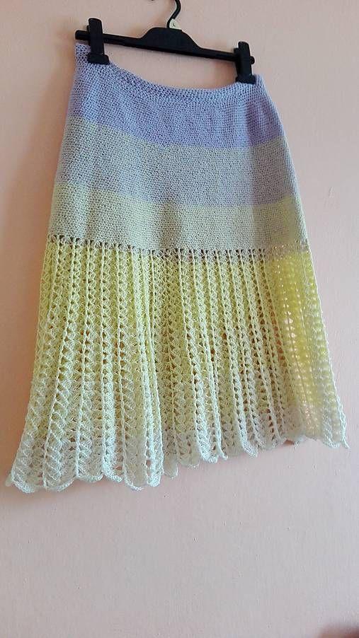 martinsen / Dúhová letná sukňa