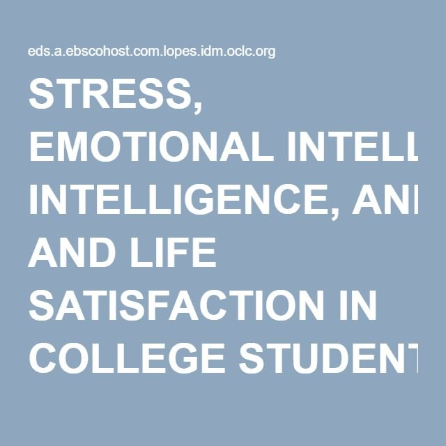 Stressful life of students