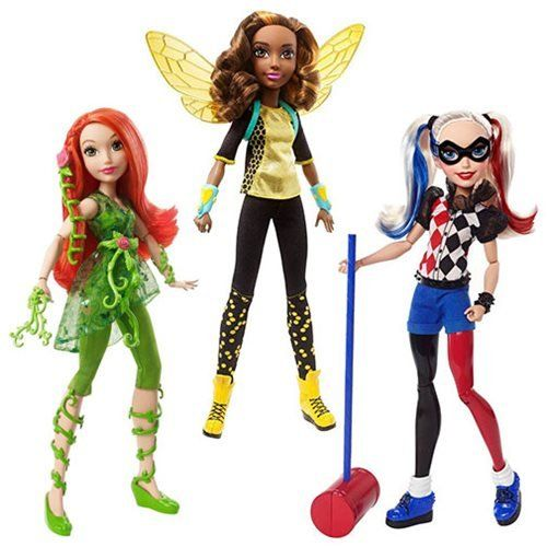 DC Super Hero Girls Action Doll Non-Core Doll Case Review