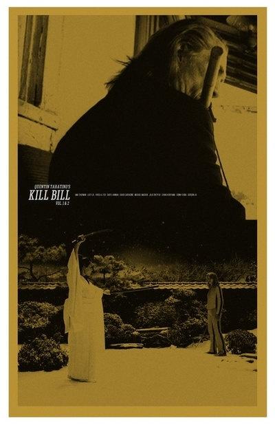 Kill Bill - movie poster - Adam Juresko