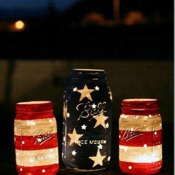 Stars & Stripes Lanterns