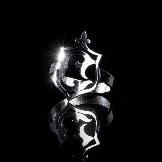 Sterling Silver Midi Ring / Pinky Ring / Signet by SkadiJewellery