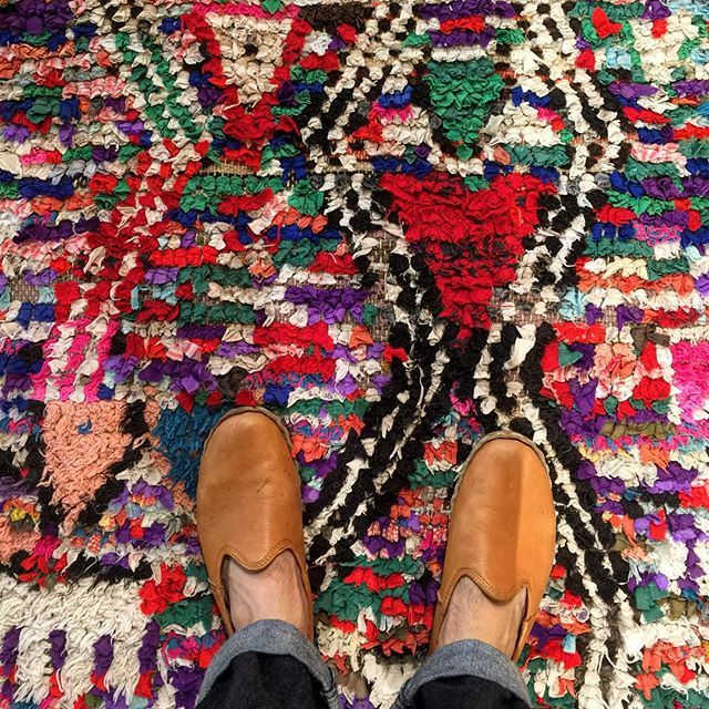 Vintage Moroccan Rag Rugs, Building # 1 At Green Front