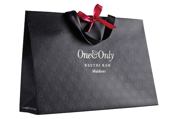 One & Only Spa Retail Bags