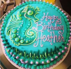 Image result for seahorse cake