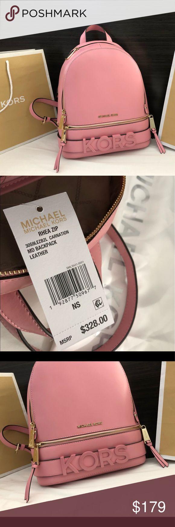 Neu $ 328 Michael Kors Rhea Rucksack MK Handtaschen Tasche ⏳⏳⏳LAST 1! 🔥🔥🔥 …