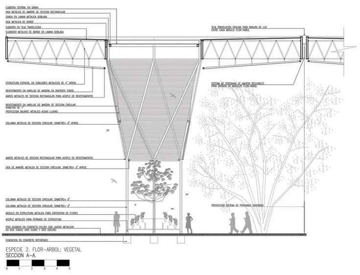 Arquitectura botánica - El Orquideorama de Medellín