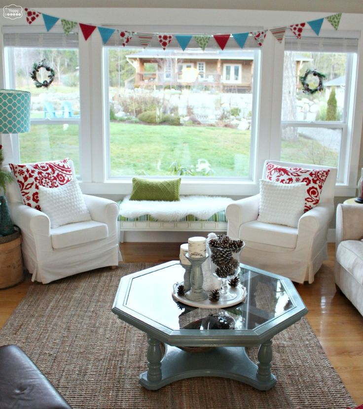1000+ Ideas About Christmas Living Rooms On Pinterest