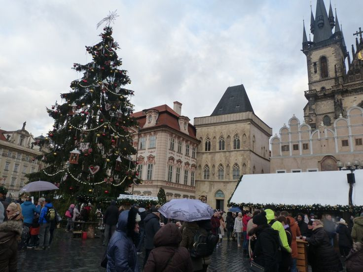 Old Town Square Christmas Market. It might be the most beautiful market in Prague, and it is undoubtedly the most expensive, but it's a good place to start.